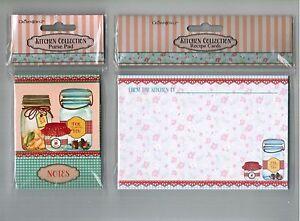 Crownjewlz Kitchen Collection Mason Jar Magnetic Purse Notepad & Recipe Cards