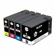4x New Hi-Yield BK & Color Ink For Canon PGI-1200XL PGI1200 MAXIFY MB2020 MB2320