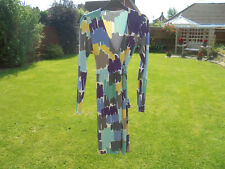 BODEN JERSEY WRAP DRESS SIZE  12 LONG great for autumn