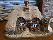 """Lilliput Lane """"Thatchers Rest"""" boxed with deed retired 1995 signed by artist"""