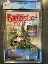Monsters Unleashed No.7 – Lenticular Fantastic Four No.1 1961 Cover – CGC 8.0