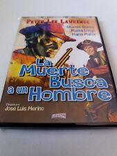 """DVD """"LA MUERTE BUSCA A UN HOMBRE"""" JOSE LUIS MERINO PETER LEE LAWRENCE CHARLES QU"""