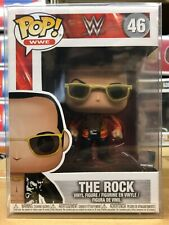 Funko Pop Wwe: The Rock Vinyl Figure #46 w/ Protector