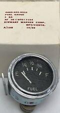 Vintage Stewart Warner 24v Fuel Gauge N.O.S