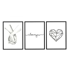 Love Print, Print, Poster, Wall Art, Home Decor, Art, Prints, Heart Print, 3x
