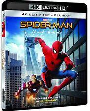 SPIDER MAN HOMECOMING 4K + BLU RAY SPIDER-MAN SPIDER MAN NUEVO ( SIN ABRIR )
