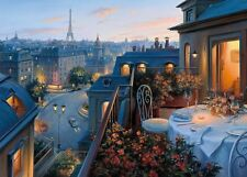 Gibsons Jigsaw 1000 Pieces Puzzle - An Evening In Paris by Evgeny Lushpin
