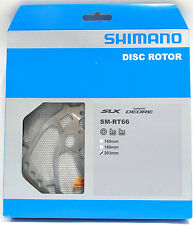 Shimano Deore SLX SM-RT66-L Disc Brake 6-bolt Rotor 203mm, NIB