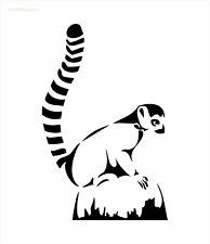 Lemur Stencil - RE-USABLE 6 X 9 INCH