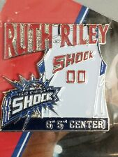 WNBA Ruth Riley Detroit Shock Jersey Pin