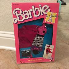 Barbie Doll Fashion Paris Pretty for Barbie 1988