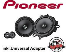 PIONEER TS-A1600C 16,5 cm 2-Wege System Opel, VW, Fiat inkl.Universaladapter Neu