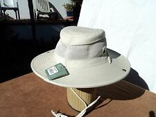 San Diego Hat OCM4507 Stone 100% Cotton Travel Hat (L)