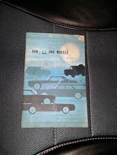 1965 SUN AIR AND WHEELS GM General Motors Brochure