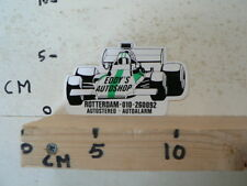 STICKER,DECAL EDDY'S AUTOSHOP ROTTERDAM AUTOSTEREO,ALARM FORMULA ONE A