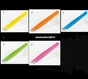 Sapina Pinzette von Solingen, Neon, gelb, orange, blau, grün, pink, NEU