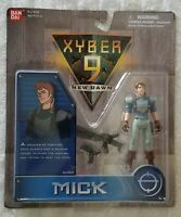 XYBER 9 NEW DAWN MICK 4 INCH ACTION SOLDIER BANDAI 1999