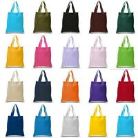NEW COTTON SHOULDER TOTE SHOPPING BAGS CANVAS SHOULDER STRAP 38x42 TOP QUALITY