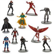 Marvel's Avengers Captain America Civil War Deluxe Figure Play Set Toy 10 Pieces