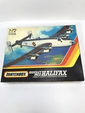 "VINTAGE 1983 MATCHBOX 1/72 SCALE #PK-604 ""HANDLEY PAGE HALIFAX"" 3 COLOUR KIT"