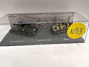 Set dos tanques 1:72 World of tanks tanque diecast #33