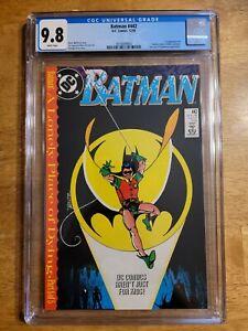 Batman #442 CGC 9.8 NM 1st Tim Drake in Robin Costume Key