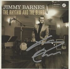SIGNED CD SLEEVE - JIMMY BARNES