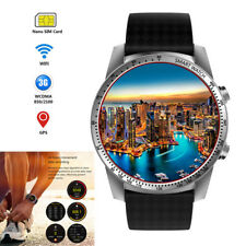 3G Wifi Bluetooth SmartWatch 8GB SIM GSM GPS Sports Watch for Samsung Men Women