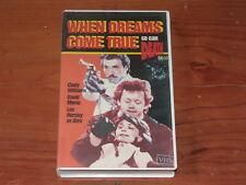 When Dreams Come True VHS 1980s Thriller Village Roadshow Home Video PAL