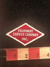 Vtg EQUIPMENT SERVICE COMPANY Advertising Patch S99D