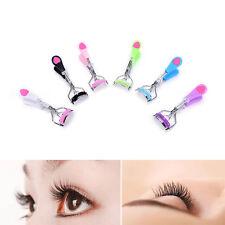 Handle Eye Curling Eyelash Curler Clip Beauty Makeup Eyelash Tool With Comb、`XG
