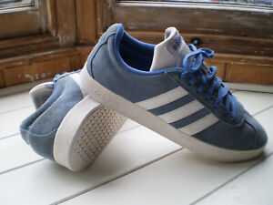 Adidas PGD 789006 Avery Superstar Mens Blue Suede Trainers Size 8 M