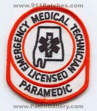 Alabama State Licensed Emergency Medical Technician EMT Paramedic EMS Patch Alab