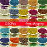 Wholesale 1350pcs 2*3mm DIY Lots Charm Glass Seed beads Jewelry Making Craft