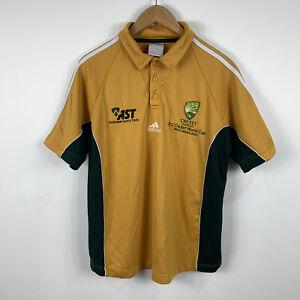 Cricket Australia Shirt Mens Size Medium Adidas ICC World Cup 2007 26.31