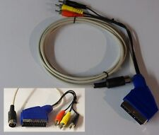 Atari 65XE,130XE,800XE Kabel universal S-Video + Composite 4 Meter.