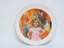 "Shirley Temple 10"" Vintage Collector Plates- ""Curly Top"""