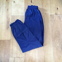 Navy Tracksuit Trousers Training  Sports Rugby Football Boys 26 inches BNWT< Q68