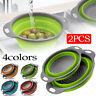 Kitchen Strainer Baskets Bowl Colander Noodles Vegetables Fruit Rice Washing