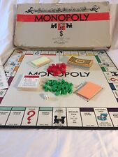 Vintage MONOPOLY Game 1935 1946 by Parker Brothers