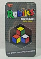 NEW Rubik's Match Card Game The Brain Teaser Card Game Family Game Night
