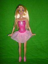 Poupée Barbie ~ rose strié blonde ~ peint sur Body avec queue de cheval Cameo