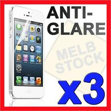 3 x Anti Glare Matte LCD Screen Protector Skin Cover for Apple iPhone 5S 5C 5 SE