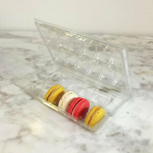 Clear Macaron Blister Box for 12 Macarons($2.20 each) - Pack of 20 Boxes
