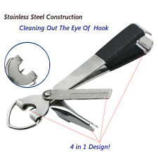 1 Pcs 4 In 1 Quick Knot Cutter Nippers Snip Tying Tool Nail Clippers Line