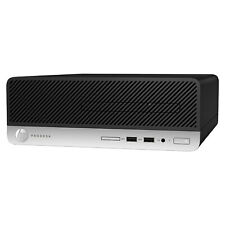 HP ProDesk 400 G4 SFF i5 7500 8GB DDR4 RAM 256GB SSD Windows 10 Pro Desktop PC