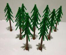 10x LEGO®City,Stadt,Konvolut Baum,Bäume,Tannen,Kiefer,Fichte,Nadelbaum,Wald MOC