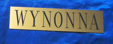 Wynonna Judd Dressing Room Sign / Plaque Atlantic City Rare