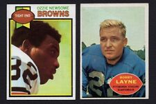 1979 Topps Football #308 Ozzie Newsome Browns HOFer and current GM....NM