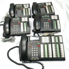 Lot of 17 Nortel Networks T7316 Business Telephones - Charcoal - Plus Parts